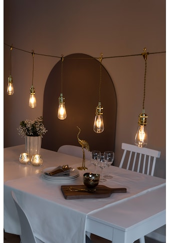 KONSTSMIDE LED globe Party Lichterkette, retro Design kaufen