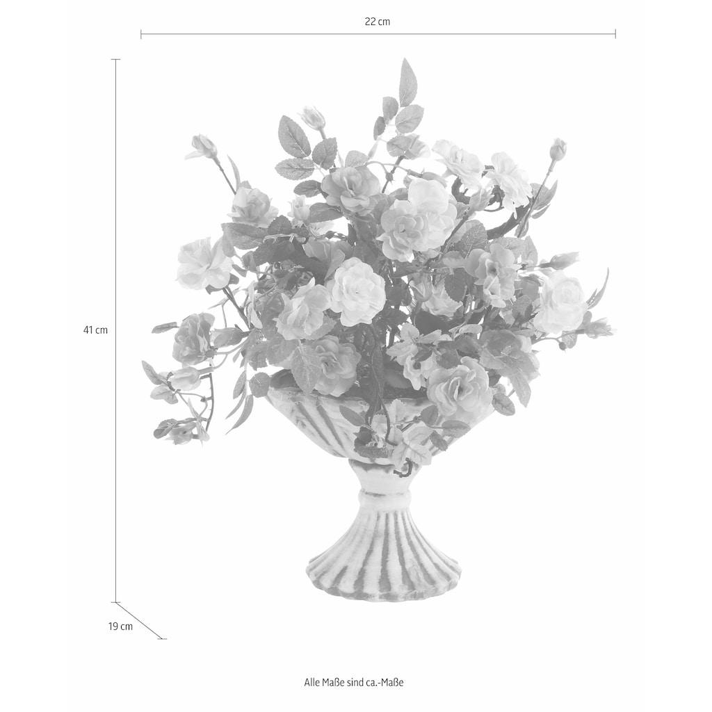 I.GE.A. Kunstpflanze »Wildrosen«