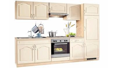 wiho Küchen Küchenzeile »Linz«, mit E - Geräten, Breite 270 cm, mit Cerankochfeld kaufen