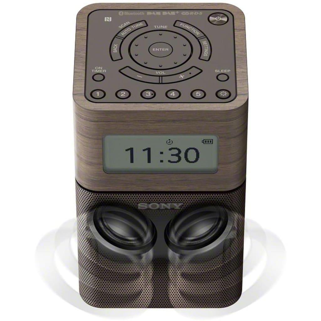 Sony Radio »XDR-V1BTD«, (Bluetooth-NFC Digitalradio (DAB+)-FM-Tuner mit RDS)