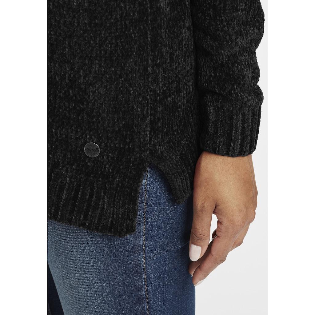 OXMO Strickpullover »Esmira«, Pullover in Grob-Strick Optik