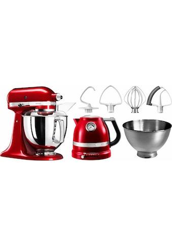 KitchenAid Küchenmaschine »Artisan 5KSM175PSECA«, mit Gratis Wasserkocher, 2.... kaufen