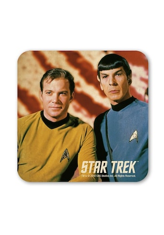 LOGOSHIRT Untersetzer mit Captain Kirk und Spock-Motiv kaufen