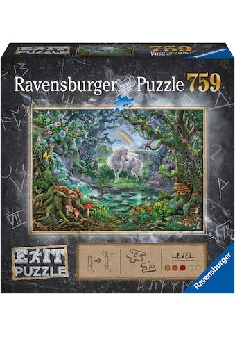Ravensburger Puzzle »Exit 9: Das Einhorn«, Made in Germany, FSC® - schützt Wald -... kaufen