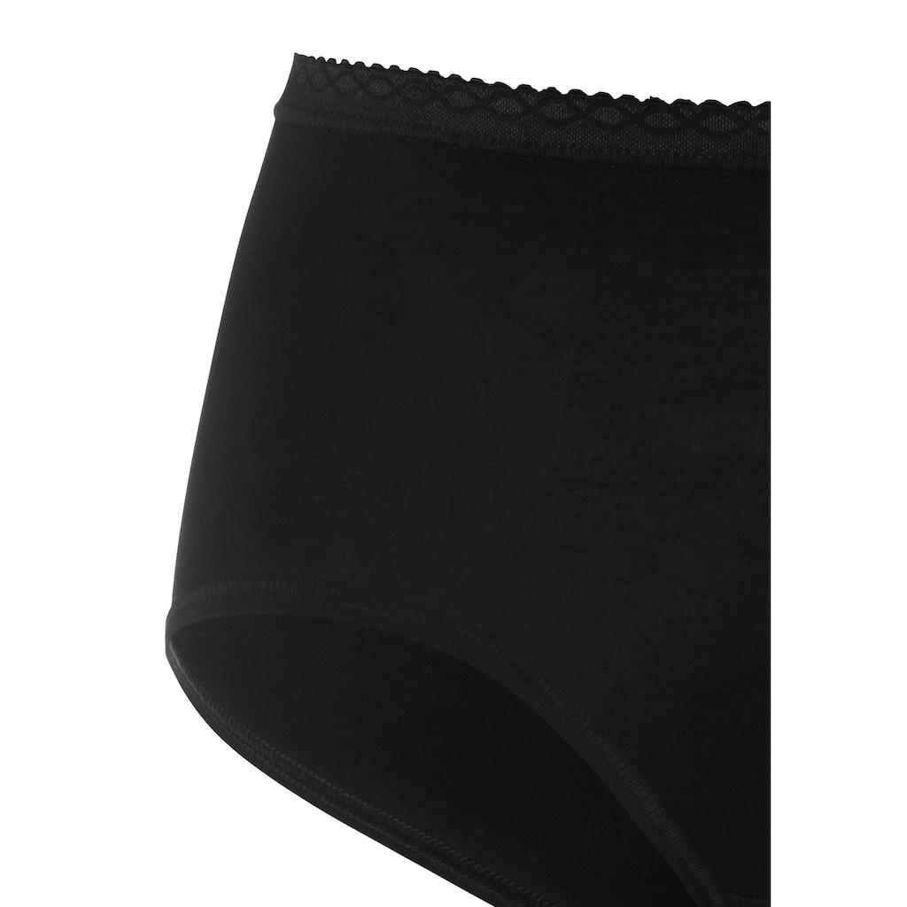Mey Taillenslip, (3 St.), aus weicher Baumwoll-Viskose-Qualität