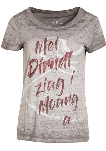 MarJo Trachtenshirt, Damen mit witzigem Spruch kaufen