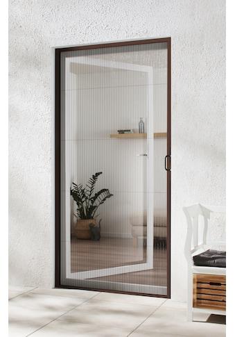 hecht international Insektenschutz-Tür, braun/anthrazit, BxH: 125x220 cm kaufen