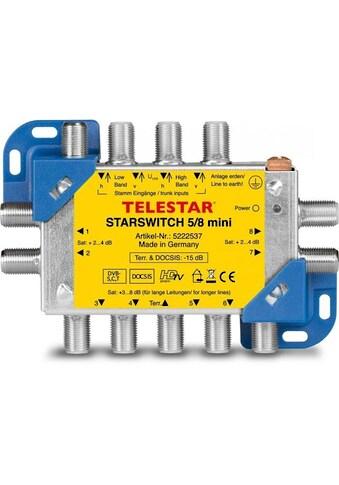 TELESTAR SAT-Verteiler »STARSWITCH 5/8 mini« kaufen