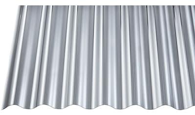 GUTTA Wellplatte Polycarbonat anthrazit, BxL: 90x300 cm kaufen