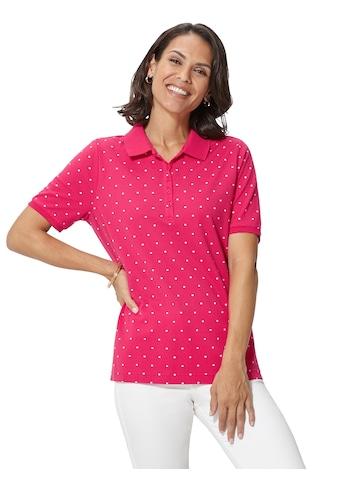 Classic Basics Poloshirt im Pünktchen - Dessin kaufen