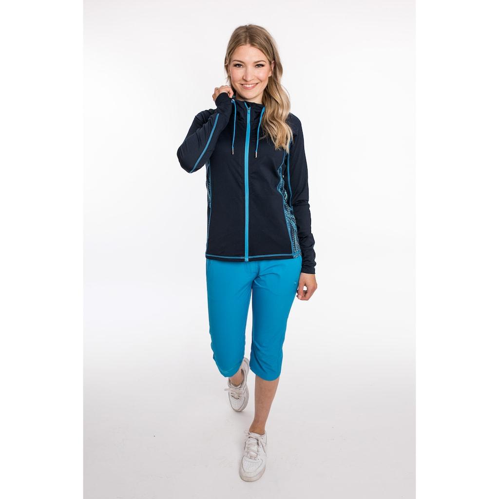 DEPROC Active Kapuzensweatshirt »SWEAT GILFORD WOMEN«, mit Kontrastdetails