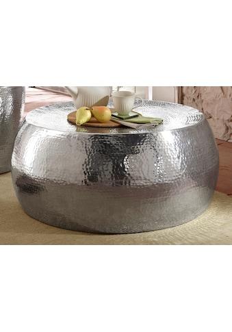 Home affaire Couchtisch »Aluci«, aus schönem Aluminium, in Hammerschlag-Optik, Höhe... kaufen