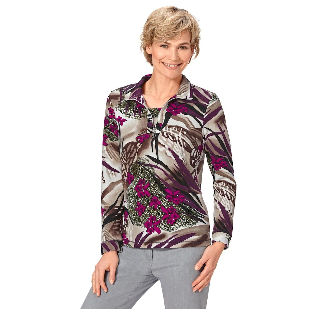 Classic Basics 2-in-1-Langarmshirt