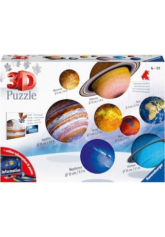 Ravensburger 3D-Puzzle »Planetensystem«, Made in Europe, FSC® - schützt Wald - weltweit kaufen