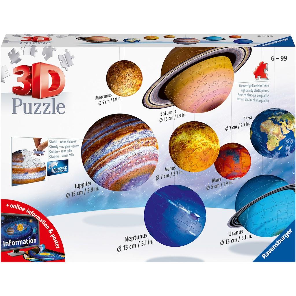 Ravensburger 3D-Puzzle »Planetensystem«, Made in Europe, FSC® - schützt Wald - weltweit