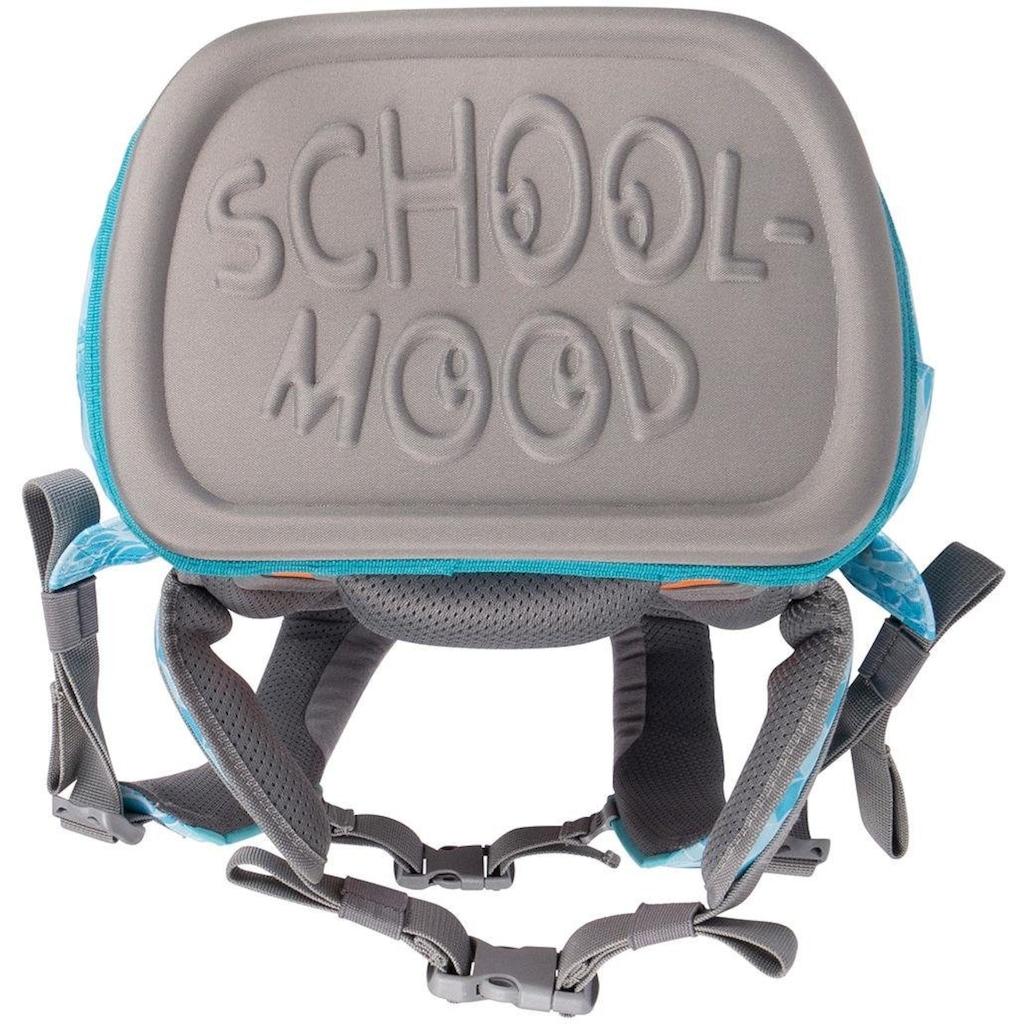 SCHOOL-MOOD® Schulranzen »Loop Air, Emily«, Reflektoren-retroreflektierende Flächen, aus recyceltem Material