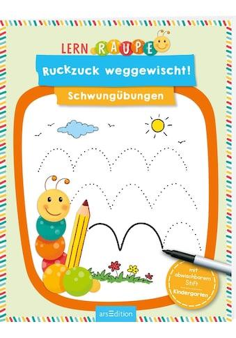 Buch »Lernraupe - Ruckzuck weggewischt! Schwungübungen / Corina Beurenmeister« kaufen
