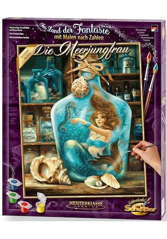 Schipper Malen nach Zahlen »Meisterklasse Premium - Die Meerjungfrau«, Made in Germany kaufen