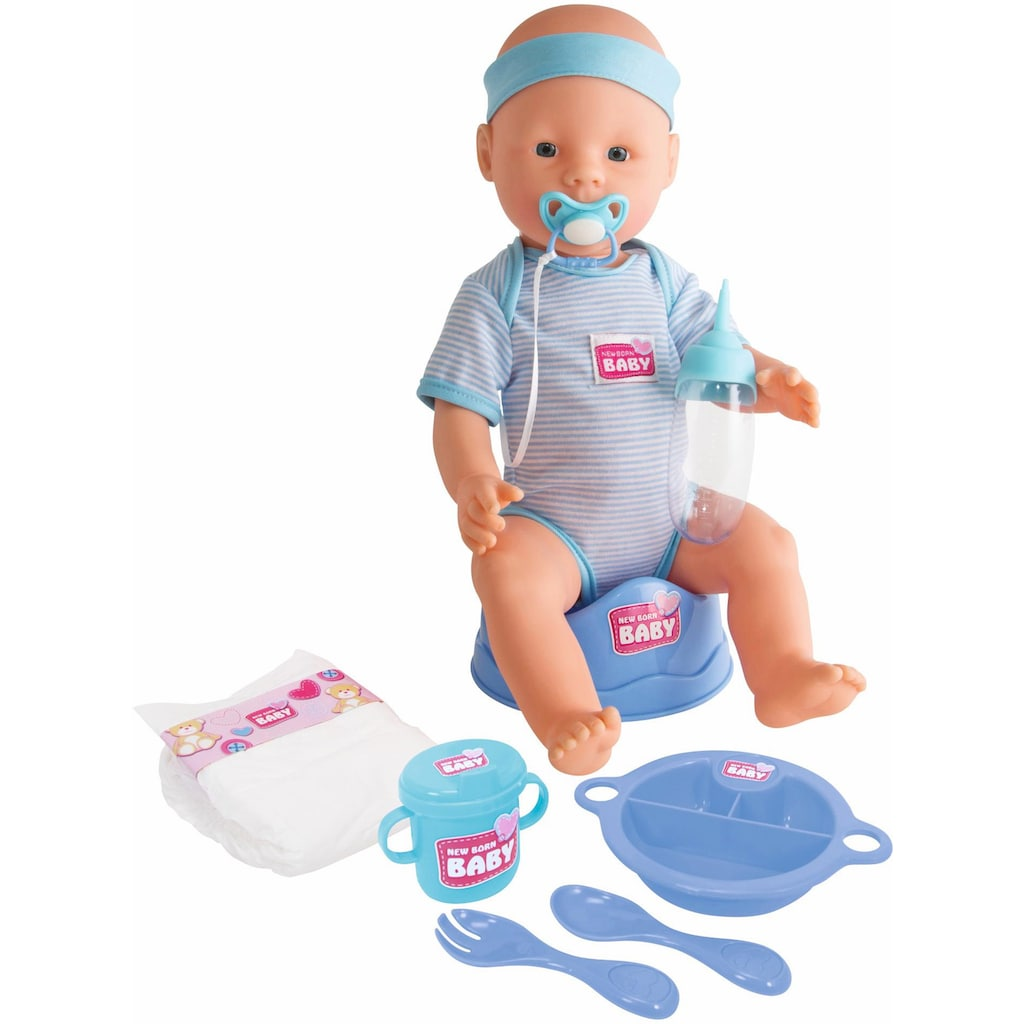 SIMBA Babypuppe »New Born Baby«, (9 tlg.)