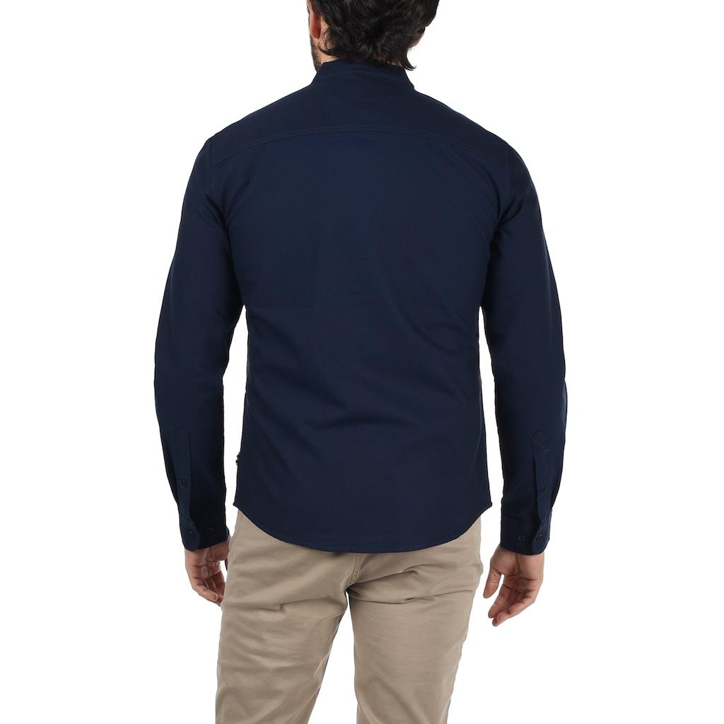 Blend Langarmhemd »Dubbal«, Hemd mit Knopfleiste