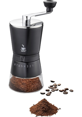 GEFU Kaffeemühle »Santiago«, Kegelmahlwerk, 8 Stufen Mahlwerk kaufen