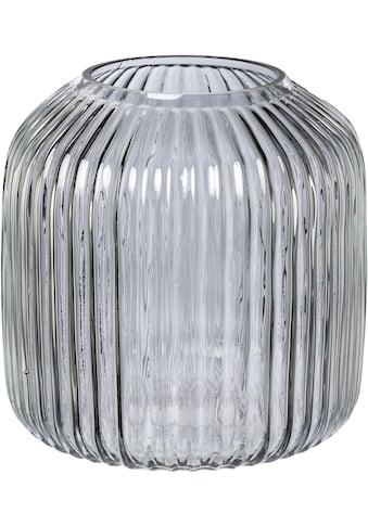 elbgestoeber Tischvase »elbrille«, aus Glas, Höhe ca. 19 cm kaufen