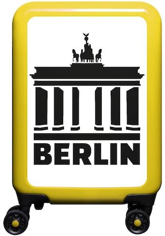 meinTrolley Hartschalen-Trolley »Berlin, 55cm«, 4 Rollen, Made in Germany kaufen