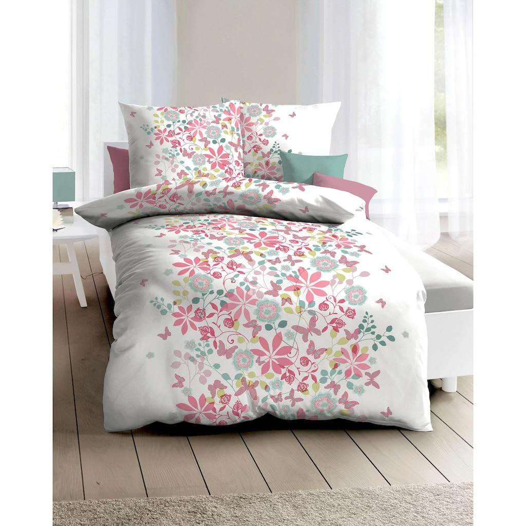 Kaeppel Bettwäsche »Simone«, mit floralem Print