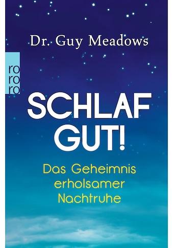 Buch »Schlaf gut! / Guy Meadows, Diane von Weltzien« kaufen