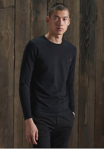 Superdry Langarmshirt »OL VINTAGE EMB LS TOP NS,« kaufen