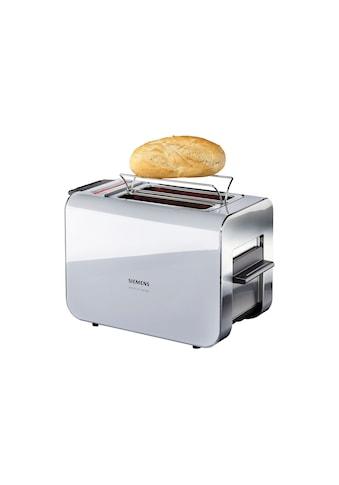 SIEMENS Toaster »Sensor for Senses TT86105«, für 2 Scheiben, 860 Watt kaufen