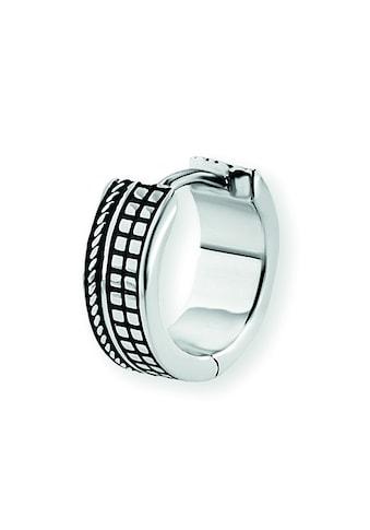 CAÏ Paar Creolen »925/-Sterling Silber rhodinert«, fein ausgearbeitete Quadrat- und... kaufen