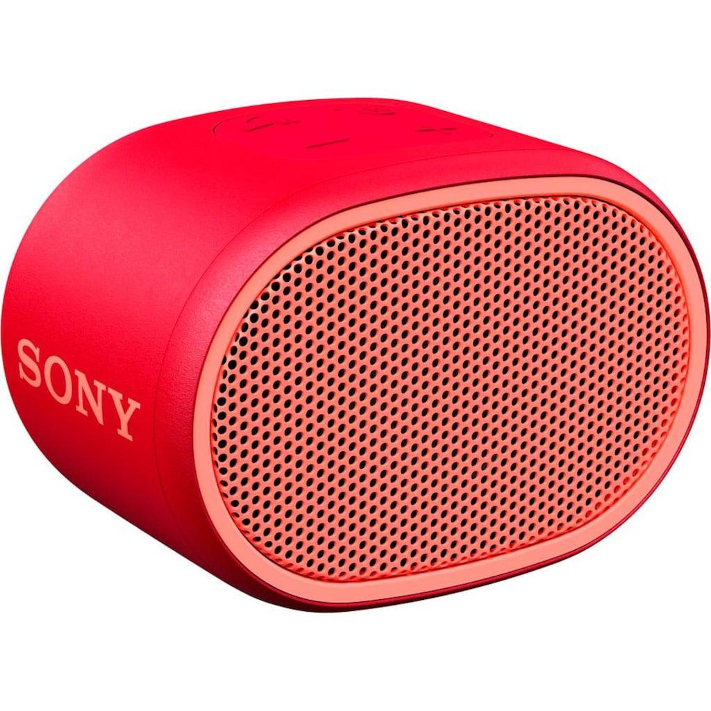 Sony Bluetooth-Lautsprecher »SRS-XB01«, Extra Bass, 6h Akkulaufzeit, Spritzwassergeschützt