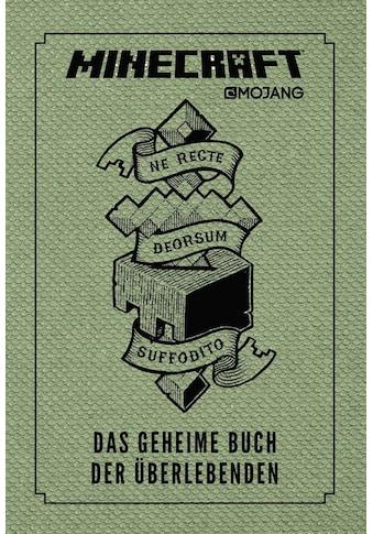 Buch »Minecraft, Das geheime Buch der Überlebenden / Josef Shanel, Matthias Wissnet« kaufen