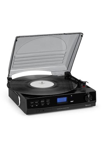 Auna Plattenspieler DAB+/FM BT - Funktion Riemenantrieb »DAB1860« kaufen