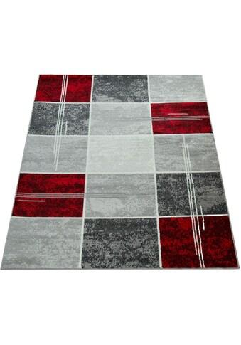 Paco Home Teppich »Sinai 057«, rechteckig, 9 mm Höhe, karierter Kurzflor, Wohnzimmer kaufen