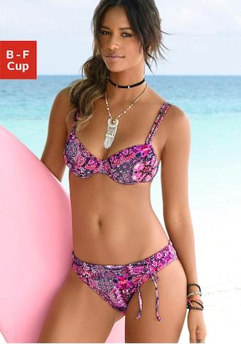 Buffalo Bügel-Bikini-Top »Shari«, mit Paisleydruck kaufen