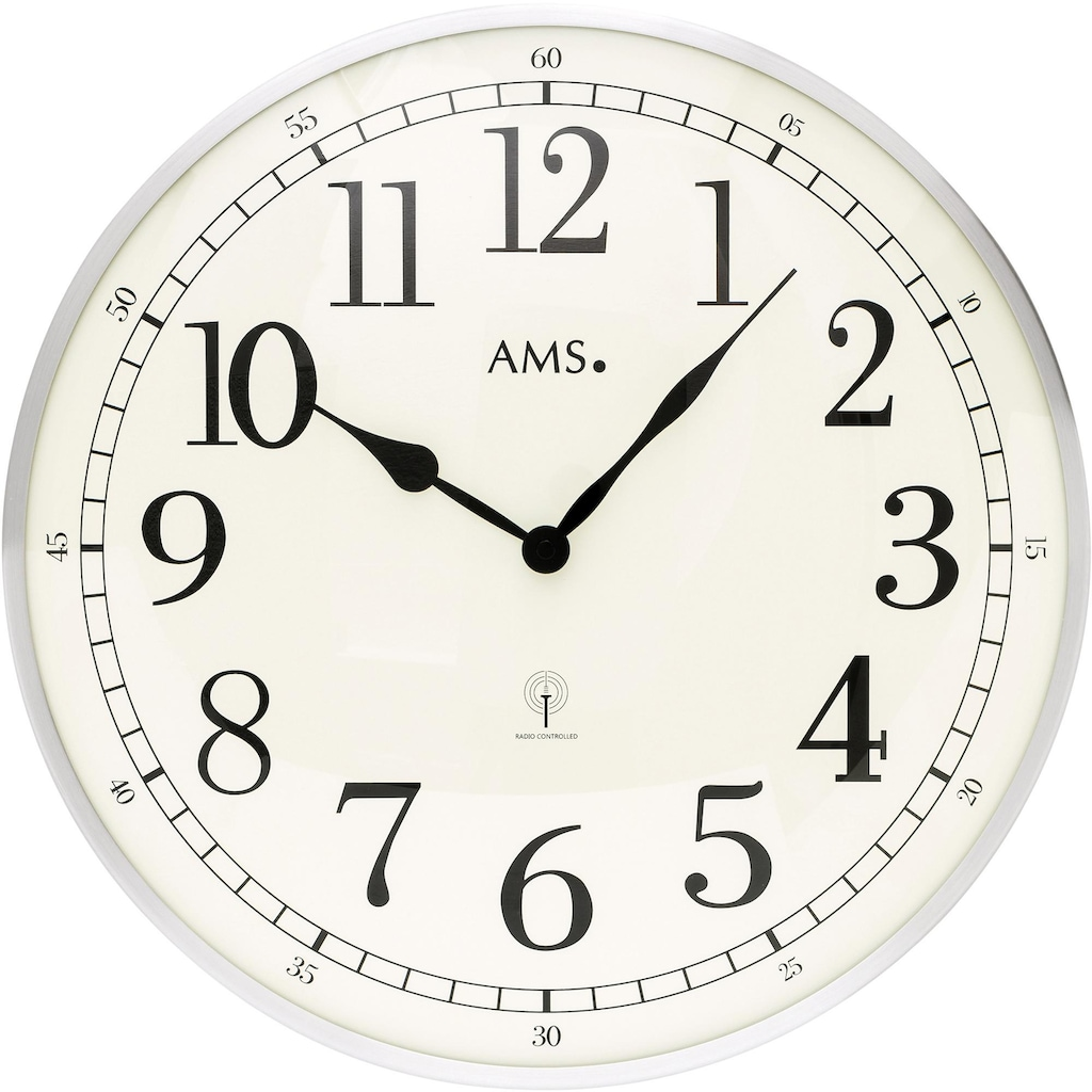 AMS Funkwanduhr »F5606«