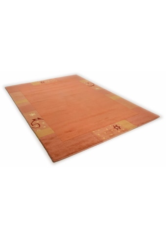 THEKO Teppich »Sierra«, rechteckig, 14 mm Höhe, handgeknüpft, mit Bordüre, Wohnzimmer kaufen