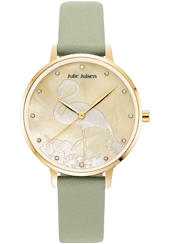 Julie Julsen Quarzuhr »Flamingo Mint, JJW1006YGL-02« kaufen
