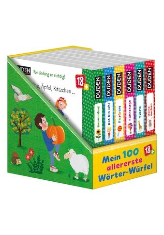Buch »Duden 18+: 100 allererste Wörter-Würfel / Iris Blanck, Nikolai Renger« kaufen