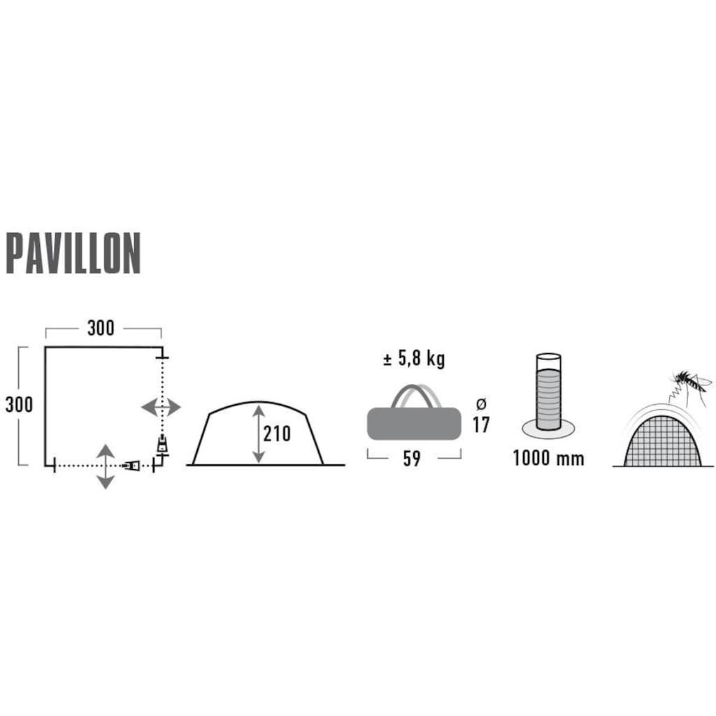 High Peak Pavillon »3x3m«