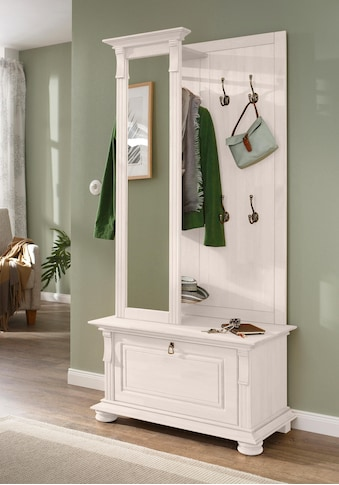 Home affaire Garderoben-Set »Mitu«, (Set, 2 tlg.), aus massiver Kiefer (2-tlg.) kaufen