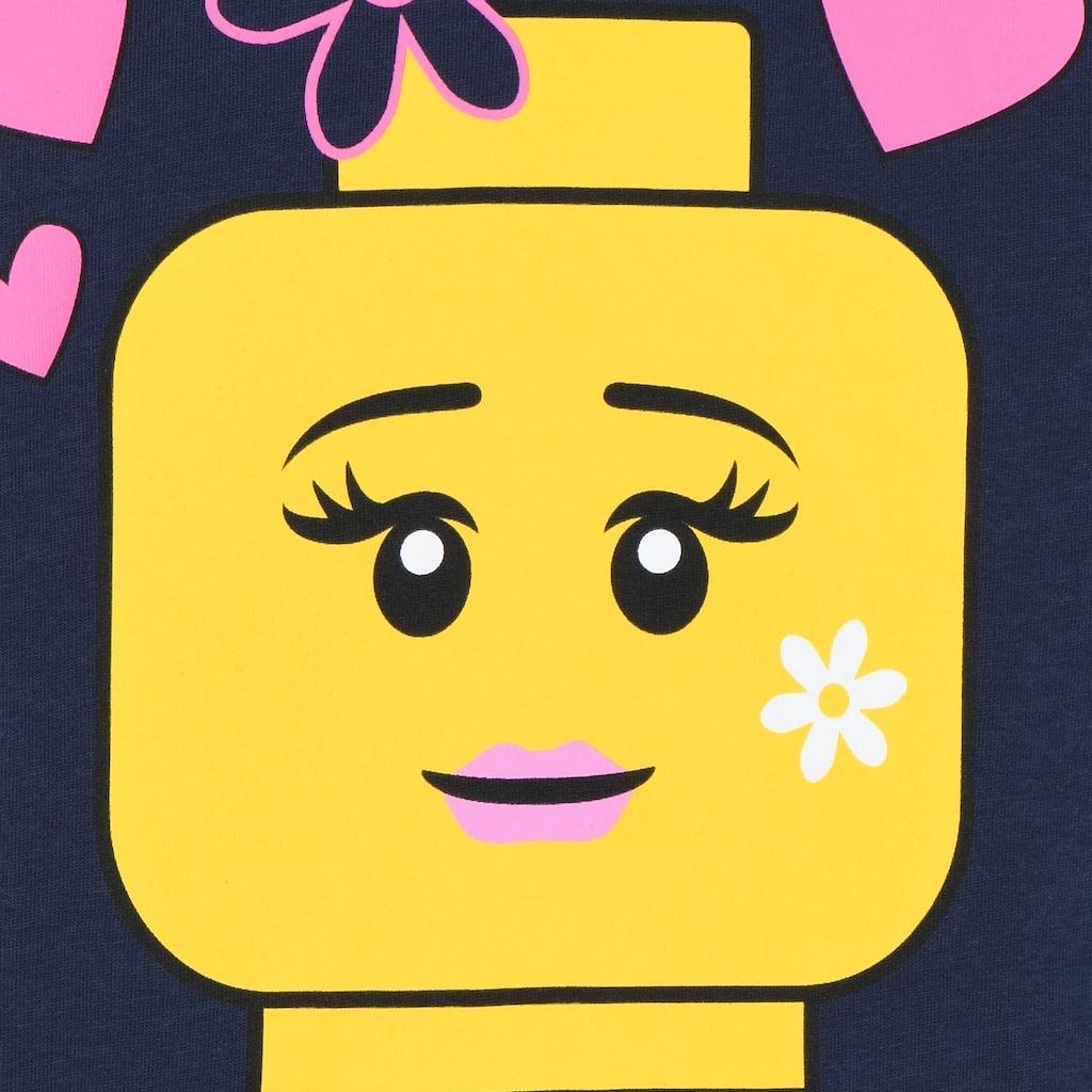 "LEGO® Wear Langarmshirt »M-22612«, ""Druck mit gelbem LEGO Kopf"""