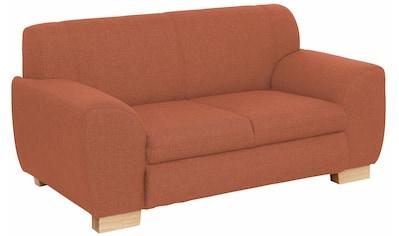 Home affaire Sofa »Nika«, wahlweise als 2-oder 3-Sitzer, in 2 Bezugsvarianten kaufen