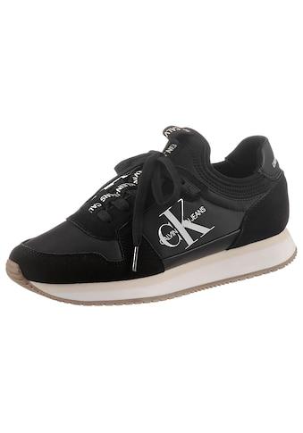 Calvin Klein Slip-On Sneaker »RUNNER LACEUP SNEAKER SOCK«, mit elastischem Einstieg kaufen