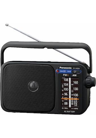 Panasonic Radio »RF-2400DEG«, (FM-Tuner), automatischer Frequenzregelung (AFC) kaufen