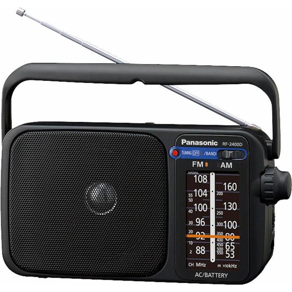Panasonic Radio »RF-2400DEG«, (FM-Tuner), automatischer Frequenzregelung (AFC)