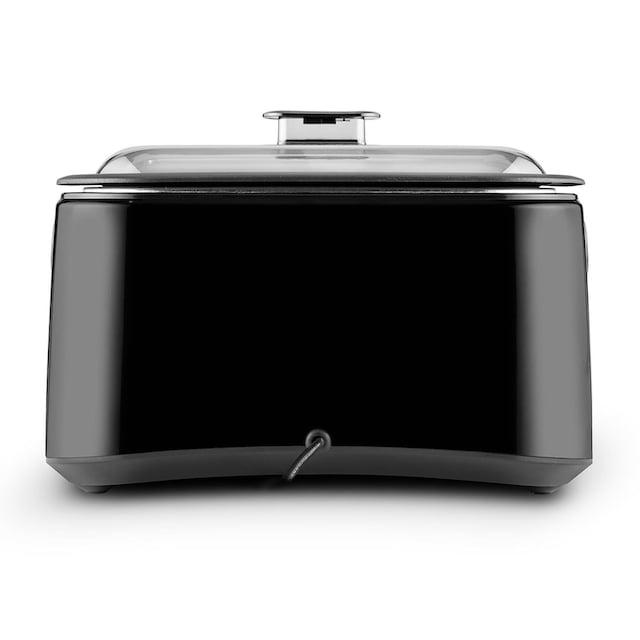 ONECONCEPT Sous-vide Garer Schongarer 5l 300 W schwarz/silber »Sanssouci«