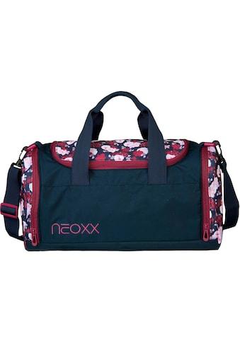 neoxx Sporttasche »Champ, My heart blooms«, aus recycelten PET-Flaschen kaufen